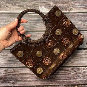 VINTAGE | Beaded handbag